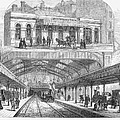 LONDON: RAILWAY, 1876 Poster by Granger