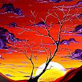 Lonely Soul by MADART Print by Megan Duncanson