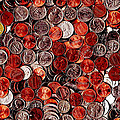 Loose Change . 2 to 1 Proportion Print by Wingsdomain Art and Photography