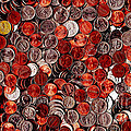 Loose Change . 9 to 16 Proportion Print by Wingsdomain Art and Photography