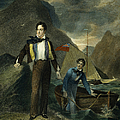 LORD BYRON Print by Granger