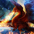 Lord of the Celestial Dragons Print by Philip Straub