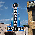 Lorraine Hotel Sign Print by Joshua House