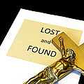 Lost and Found Poster by John Van Decker