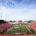 Louisville Papa John's Cardinal Stadium Fly-Over  Poster by Louisville Athletics