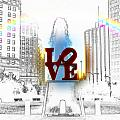 Love Print by Bill Cannon