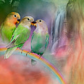 Love On A Rainbow Poster by Carol Cavalaris