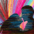 Lovers In Colour No.1 Print by Kenal Louis