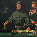 Luca Pacioli, Franciscan Friar Print by Science Source