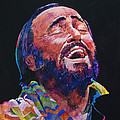 Luciano Pavrotti Poster by David Lloyd Glover