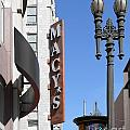 Macys Department Store in San Francisco Poster by Wingsdomain Art and Photography