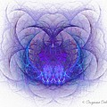 Mad About Purple Print by Suzanne Schaefer