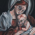 Madonna and Child Print by Joe Dragt
