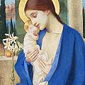 Madonna and Child Print by Marianne Stokes