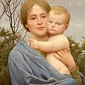 Madonna of the Mount  Poster by Thomas Cooper Gotch