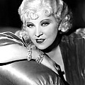 Mae West, Portrait Poster by Everett