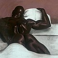 Male Nude Print by L Cooper