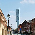 Manchester - Beetham Tower Poster by Hristo Hristov