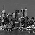 Manhattan Twilight IV Print by Clarence Holmes