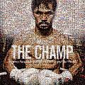 Manny Pacquiao-The Champ Poster by Ted Castor