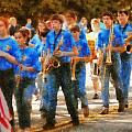 Marching Band - Junior Marching Band  Poster by Mike Savad