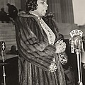 Marian Anderson 1897-1993, At A Nbc Poster by Everett