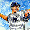 Mariano Rivera Print by Dave Olsen
