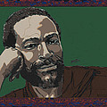 Marvin Gaye  Poster by Suzanne Gee