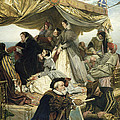 Mary Stuart's Farewell to France Print by Henry Nelson O Neil
