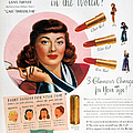 MAX FACTOR LIPSTICK AD Print by Granger