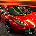 McLaren MPH-12C Sportscar Print by Wingsdomain Art and Photography