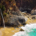 McWay Falls California Print by Utah Images
