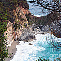 McWay Falls in Spring Print by Tonia Noelle