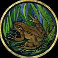 Meadow Frog by Anna Folkartanna Maciejewska-Dyba