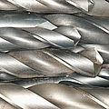 Metal Drill Bits Poster by Shannon Fagan