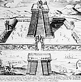 MEXICO: AZTEC TEMPLE, 1765 Poster by Granger