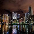 Miami Print by Nelson Rodriguez