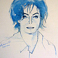 Michael Jackson - Gimme Your wings Print by Hitomi Osanai