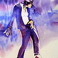 Michael Jackson - Not my lover Poster by Hitomi Osanai