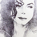 Michael Jackson - Nothing compared to you Poster by Hitomi Osanai