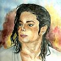 Michael Jackson Black or White Poster by Nicole Wang