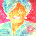 Michelle Obama 2 Poster by Richard W Linford