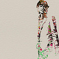 Mick Jagger watercolor Poster by Irina  March