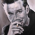 Mickey Rourke Poster by Eric Dee