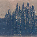 Milan Cathedral Poster by Naxart Studio