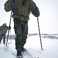 Military Arctic Survival Training Print by Louise Murray