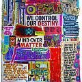 Mind Over Matter Poster by Heather Largent