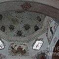 Mission San Xavier del Bac - Vaulted Ceiling detail by Suzanne Gaff
