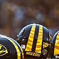 Mizzou Football Helmet Print by Replay Photos