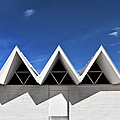 Modern Building Roofing Poster by Eddy Joaquim
